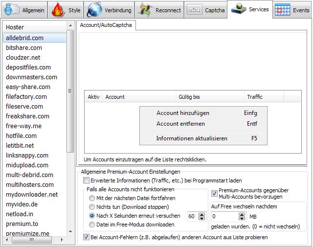 Premiumize me proxy jdownloader